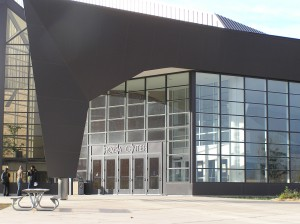 Rozsa Center Lobby Exterior